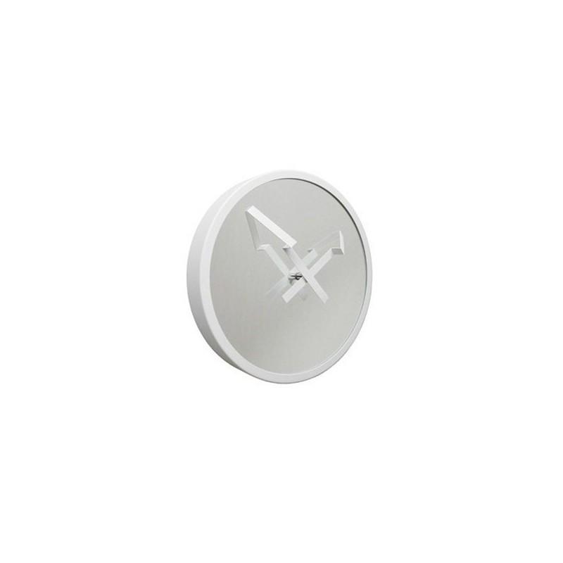 Zegar strzała biały firmy Invotis - OR1055