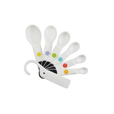 Zestaw 6 miarek-łyżek OXO Good Grips z haczykiem