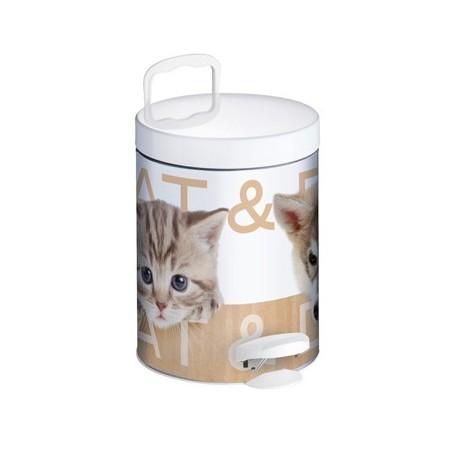 Kosz na śmieci de-luxe 5 L CAT & DOG firmy Meliconi