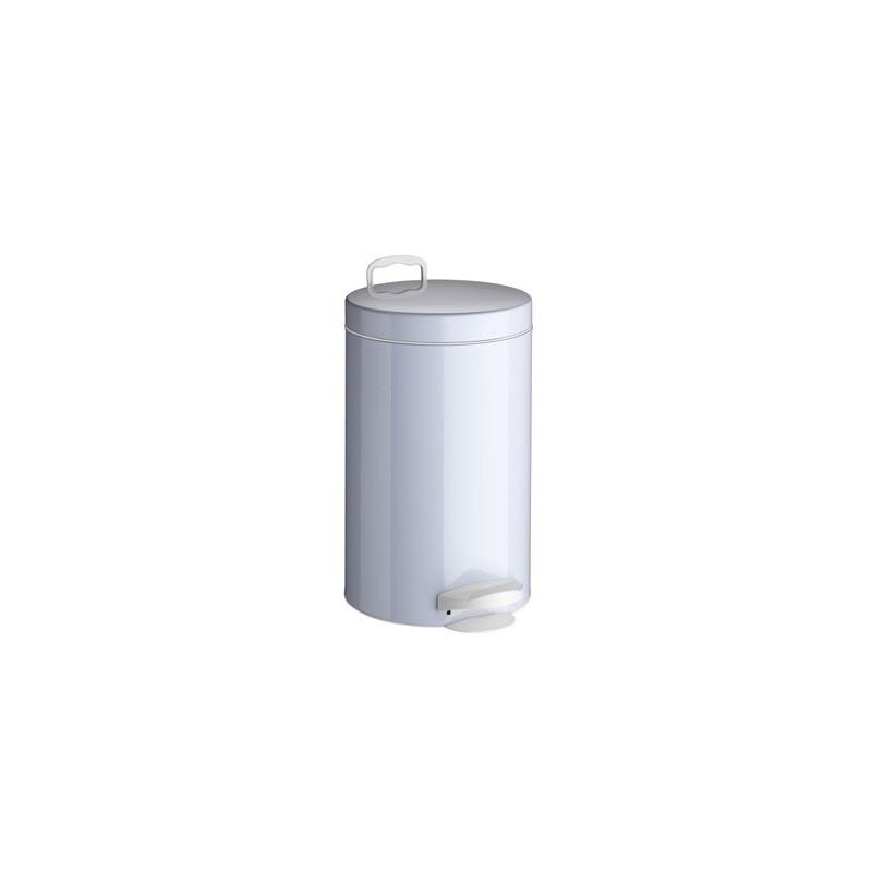 Kosz na śmieci de-luxe biały 14 L firmy Meliconi