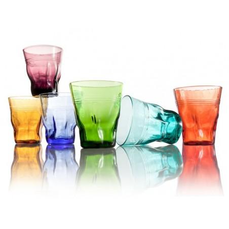 kolorowe szklanki-6szt. SKRETCH firmy Brandani - 56839