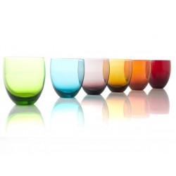 kolorowe szklanki-6szt. TUMBLER firmy Brandani - 57849