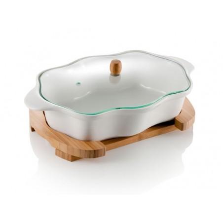 porcelanowe naczynie PIROFILA firmy Brandani - 55199