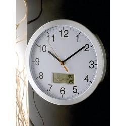 zegar z pogodynką WEATHER CLOCK firmy Brandani - 59864