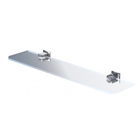 Półka z ramką 70 cm - Chrom firmy Andex - 61870CC