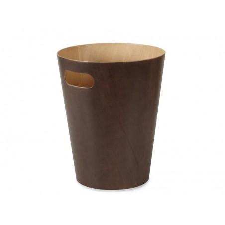 Kosz na śmieci Woodrow Espresso firmy Umbra