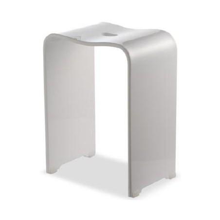 Stołek łazienkowy akrylowy firmy Ljungman - L525001