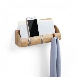 Półka z 3 haczykami Cubby firmy Umbra