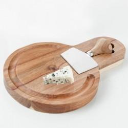 Deska do sera z nożem CHEESE firmy Brandani - 54008