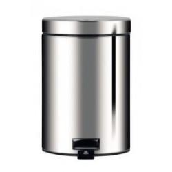 Kosz 5L pedałowy firmy Brabantia z metalowym wiaderkiem - 246920