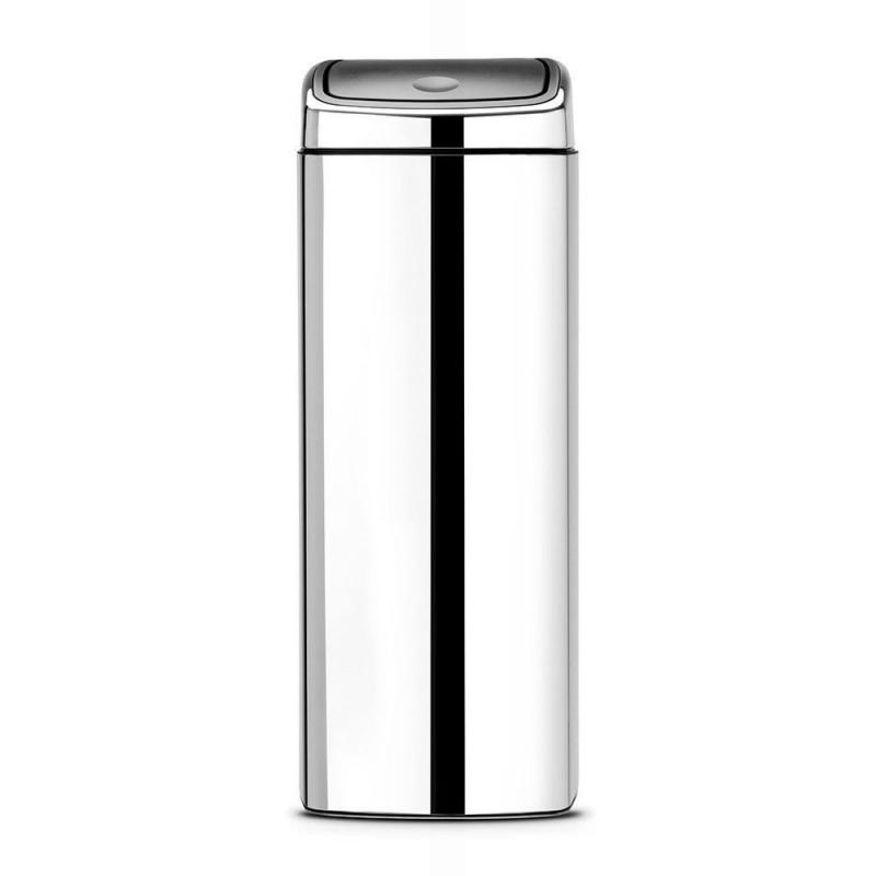 Kosz kwadratowy 25L Touch Bin firmy Brabantia – 384905