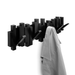 Wieszak na ubrania STICKS czarny firmy UMBRA