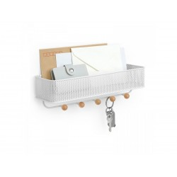 Półka ESTIQUE z 5 haczykami firmy Umbra