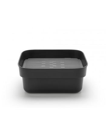 Pojemnik do zmywania z ociekaczem SinkSide ciemnoszary 302664