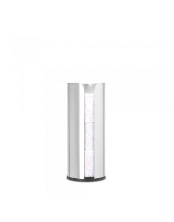 Zasobnik na papier toaletowy ReNew Stal matowa 280566