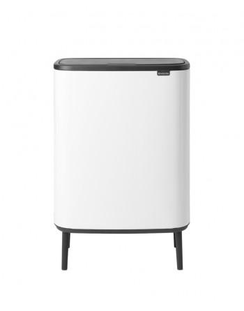 Kosz na śmieci Touch Bin Bo 2 x 30l biały 130601