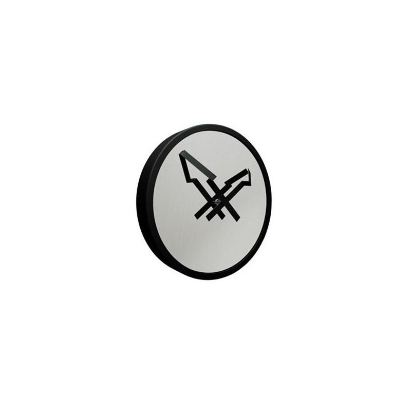 Zegar strzała czarny firmy Invotis - OR1053
