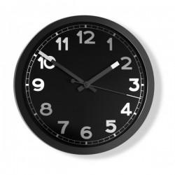 Zegar ścienny czarny firmy Invotis - 1628