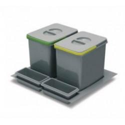Kosz do segregacji śmieci do szuflady 60 cm