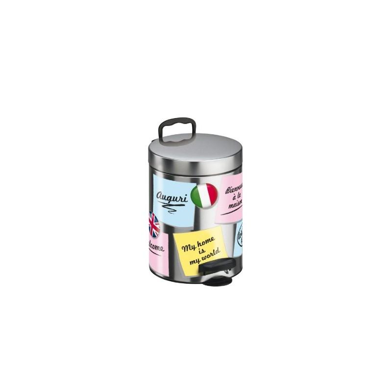 Kosz na śmieci de-luxe 5 L POST-IT firmy Meliconi