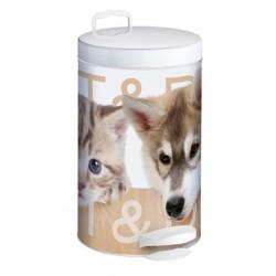 Kosz na śmieci de-luxe 14 L CAT & DOG firmy Meliconi