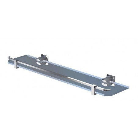 Półka bez ramki 50 cm - Chrom firmy Andex - 61750CC