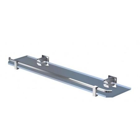 Półka bez ramki 60 cm - Chrom firmy Andex - 61760CC