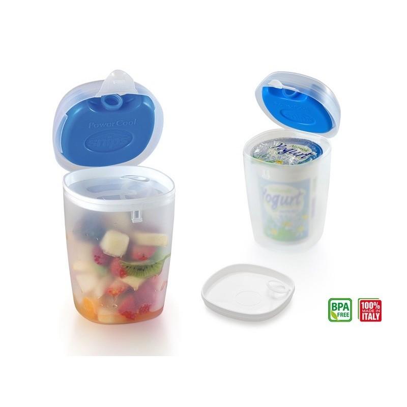 Pojemnik termiczny na jogurt lub sałatkę 0.5 L firmy Snips