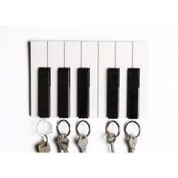 Wieszak na klucze KEY PIANO firmy Qualy