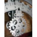 Zegar koła zębate srebrny firmy Invotis - 1553