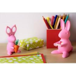 Przybornik biurowy królik firmy Qualy - QL10115