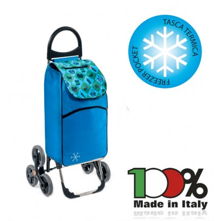 Wózek torba na zakupy trzykołowa PARIGI firmy Aurora