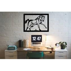 Koń Mustang metalowa dekoracja ścienna
