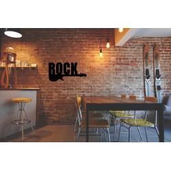 Rock metalowa dekoracja ścienna