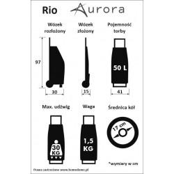 wózek na zakupy rio aurora