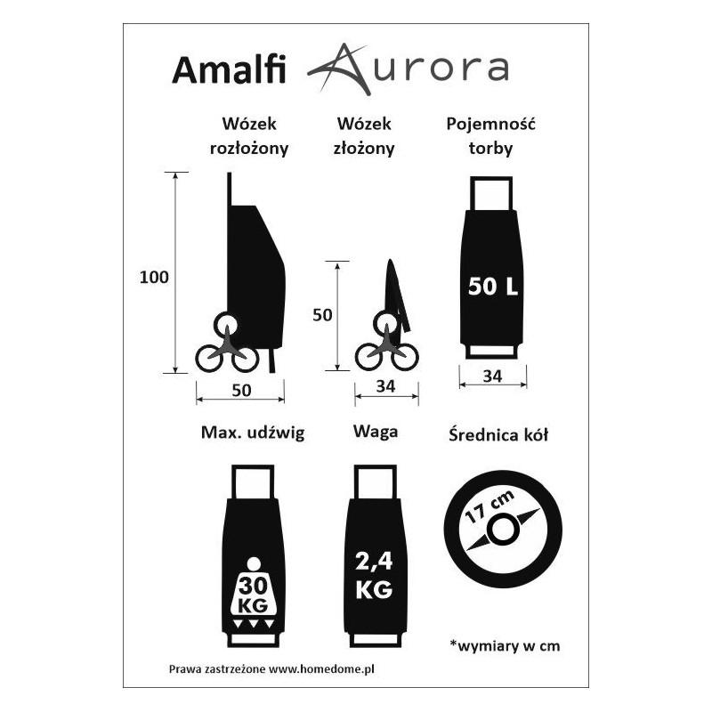 wózek na zakupy amalfi aurora